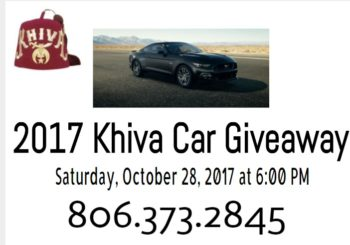 Khiva Shrine Car Giveaway