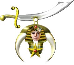 Badge of a Shriner